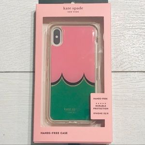 IPhone XS/X Kate Spade hands free cell phone case